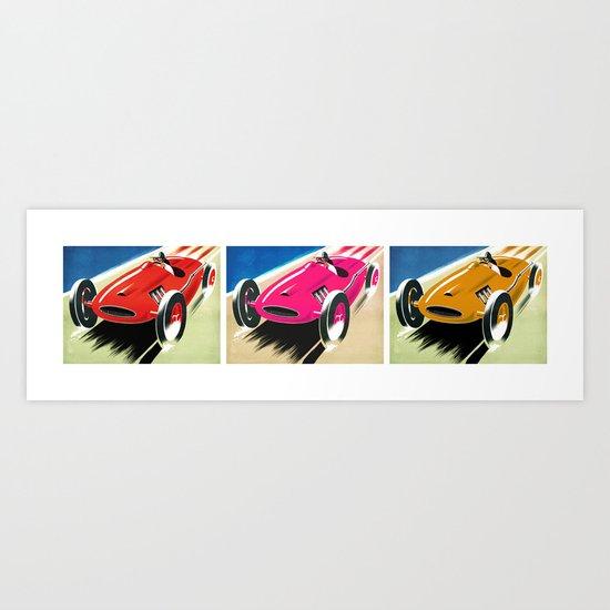 Color Race Art Print