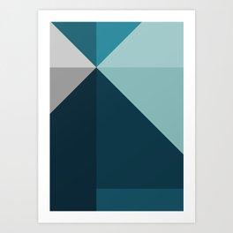 Geometric 1702 Art Print