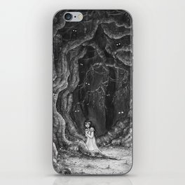 You are never alone iPhone Skin
