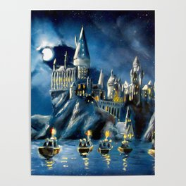 Moonlit Magic Poster