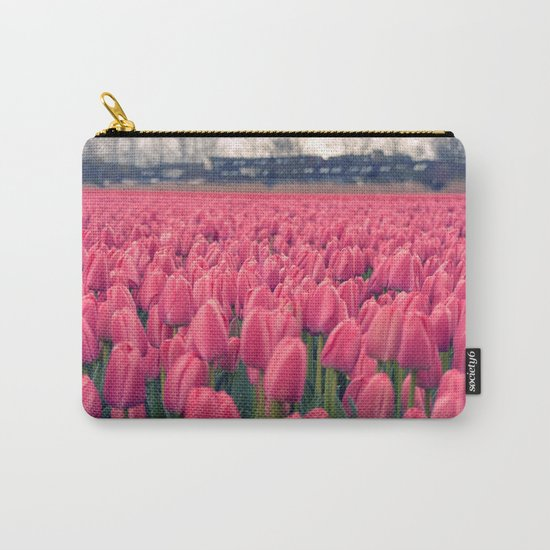 Tulips Field #5 Carry-All Pouch