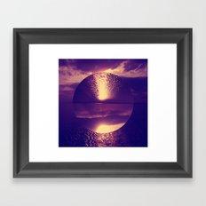 Topsy Turvy  Framed Art Print