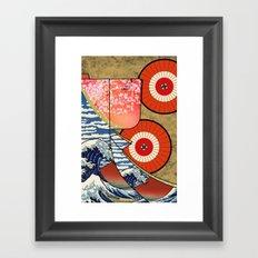 Kimono Japan Framed Art Print