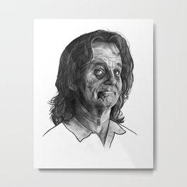 zombie bill Metal Print