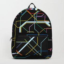 Paris Subway Map Backpack