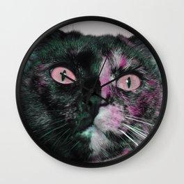 Cat God Wall Clock