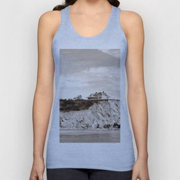 Big House on the Cliff Unisex Tank Top