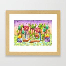 Dream Garden 2 Framed Art Print