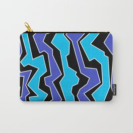 Vertical Blues Polynoise Carry-All Pouch