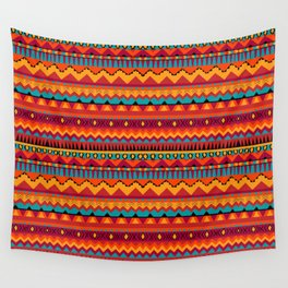 Native Aztec Print Wall Tapestry