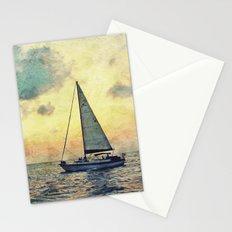 Sailing Along Stationery Cards