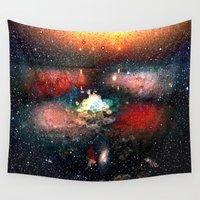 infinite Wall Tapestries featuring infinite universe by  Agostino Lo Coco