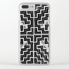 Hmong print Clear iPhone Case