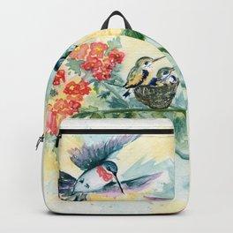 Hummingbirds Secret Garden Backpack