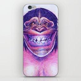 CHIMPFACE iPhone Skin