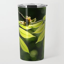 Light in the Leaves Travel Mug