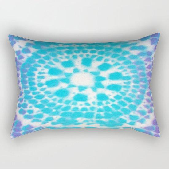 Scale Mandala Pattern Rectangular Pillow