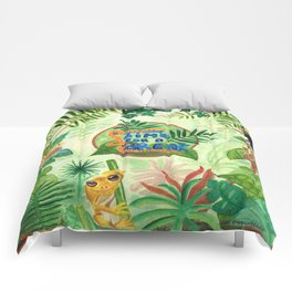 Medilludesign Ecotherapy Jungle Comforters