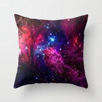 galaxy Throw Pillows featuring Galaxy! by Matt Borchert