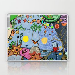 Man on a hamac Laptop & iPad Skin