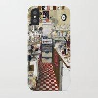 kitchen iPhone & iPod Cases featuring Kitchen by Hanne De Brabander