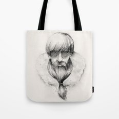 homeless hipster Tote Bag