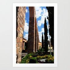 Aqueduct Art Print