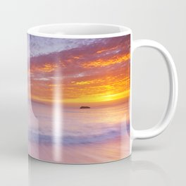 Durdle Door rock arch in Southern England at sunset Coffee Mug