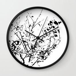 Got white bush? Wall Clock
