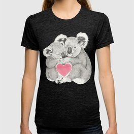 Koalas love hugs T-shirt