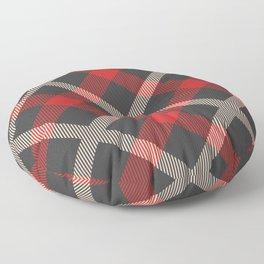 Classic Tartan Floor Pillow