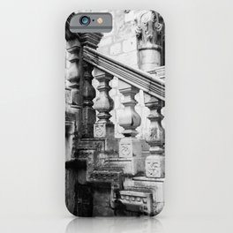 Sponza Palace Stairs | Dubrovnik Croatia iPhone Case