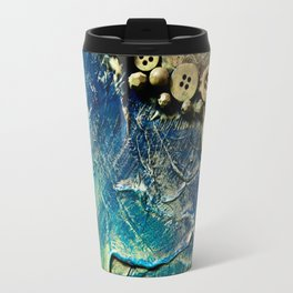 Cave Wall Abstract Travel Mug