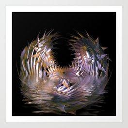 Abstract Blooming Art Print
