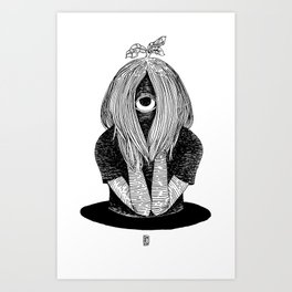 Cyclope Art Print