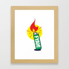 Fyah! Framed Art Print