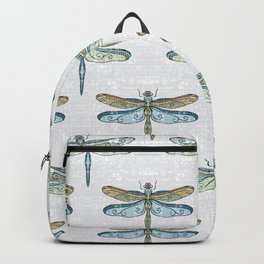 Dragonfly Gray Backpack