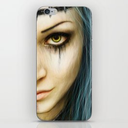 Unstoppable: A Vampiric Warrior iPhone Skin