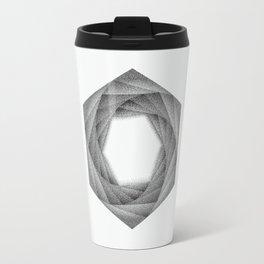STIPPLE HEXAGON Travel Mug