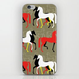 March of the Arabians iPhone Skin