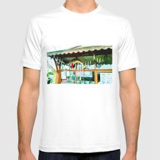 Pretty storefront. White MEDIUM Mens Fitted Tee