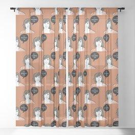 Wackadoodle Sheer Curtain