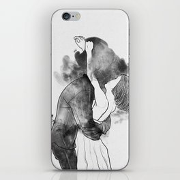 Introduce me to your universe. iPhone Skin