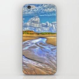 Low Tide iPhone Skin