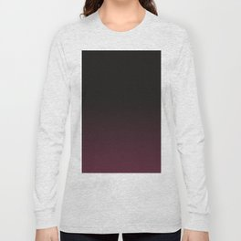Faded Background, Burgundy, Color Change Long Sleeve T-shirt