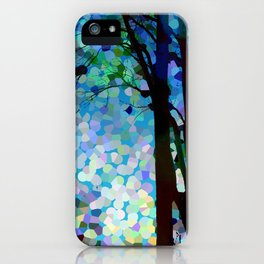 Blue Raspberry Jellybean Skies iPhone Case