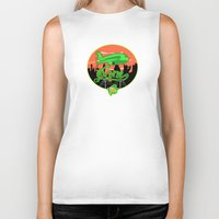 planes Biker Tanks featuring Planes & Jane's by Chefleclef