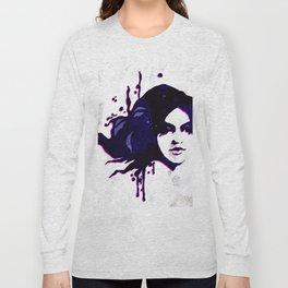 Mermaid twin girl 02 Long Sleeve T-shirt