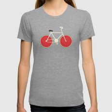 watermelon bike Tri-Grey Womens Fitted Tee LARGE