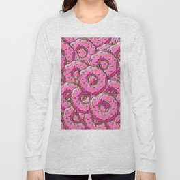 You can't buy happiness, but you can buy many donuts! Long Sleeve T-shirt